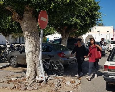 Plan de stationnement de l'ile de Djerba