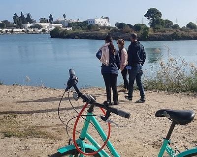 Schema directeur des itineraires pedestres et cyclables de la ville de Carthage