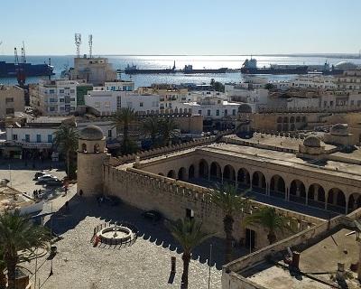 Plan de circulation et stationnement de la ville de Sousse