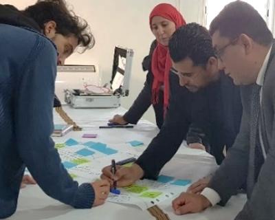 Schema participatif des mobilites cyclables, ile de Djerba